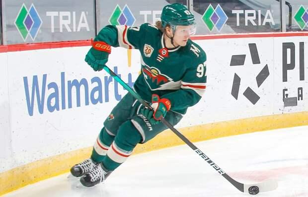 Форвард «Миннесоты» Хартман — о первой драке Капризова в НХЛ: «Вам стоит увидеть его без футболки»