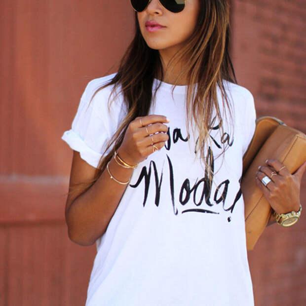 Какие женские футболки будут на пике популярности в 2021. Полный обзор