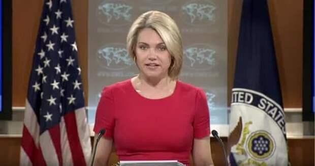Представитель Госдепа объяснила снятие флагов РФ с консульства и торгпредства «уходом за зданиями»