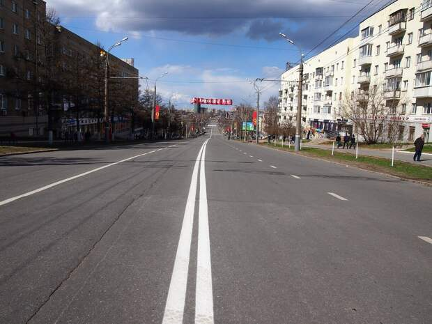 Разметку на дорогах Ижевска начнут обновлять в мае
