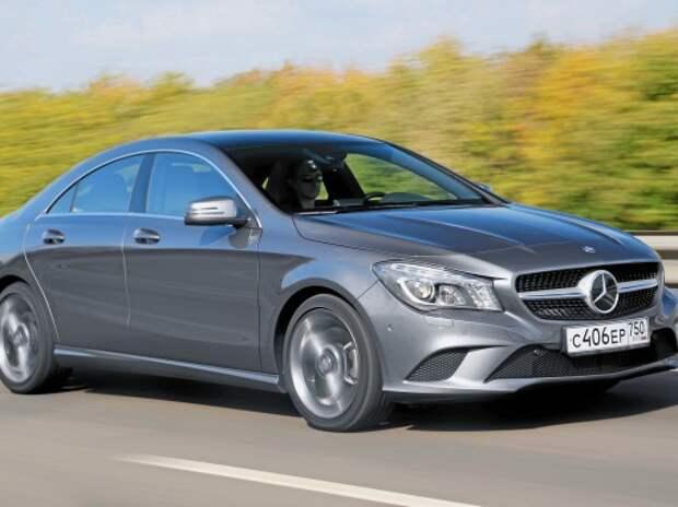 Тест Mercedes-Benz CLA250: какая буква главная