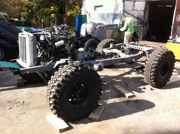 ГАЗ-69А на шасси УАЗ-Патриот продают почти за 3 миллиона рублей