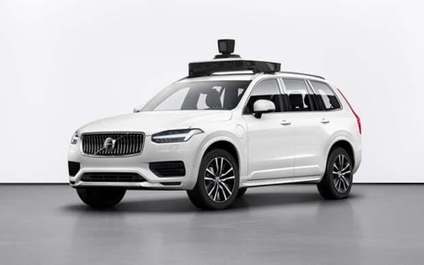 Volvo Cars и Uber сделали общий беспилотник