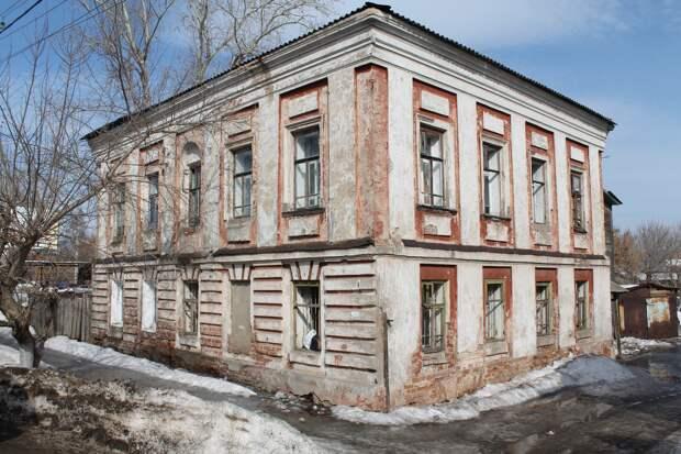 Жилой дом в центре Сарапула признали объектом культурного наследия