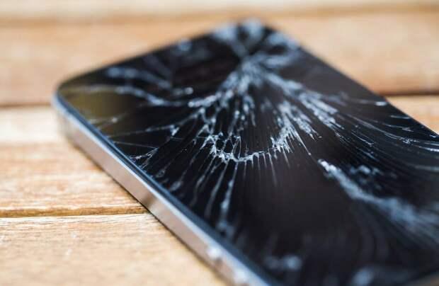 В будущем телефоны будут чинить свои экраны сами