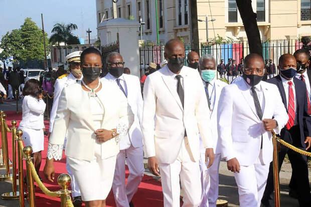 Вдова президента Гаити впервые выступила с заявлением после его убийства