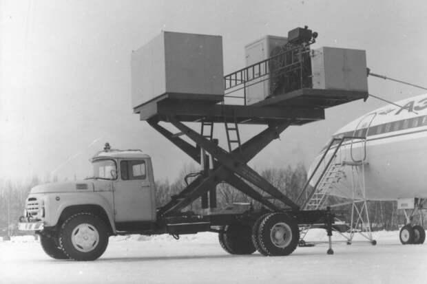 Спецмашина УПМ на шасси ЗИЛ-130Г СССР, автомобили, советская техника, советские машины