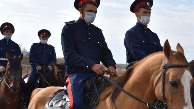 Конный переход вчесть годовщины Победы вВОВ проведут донские казаки