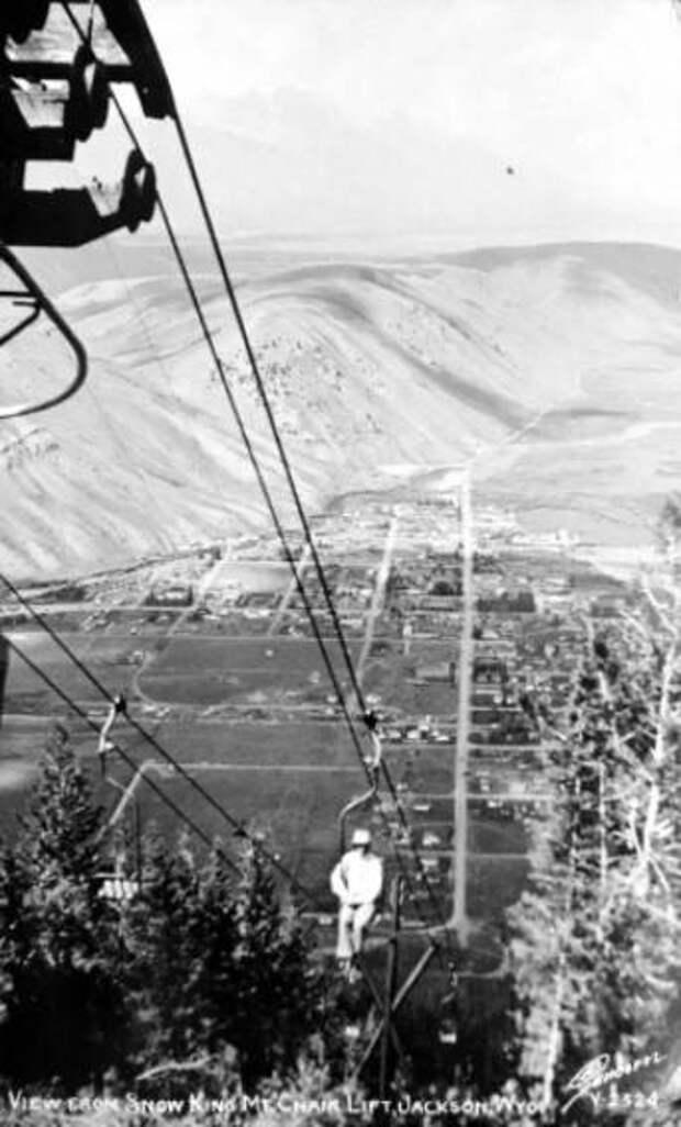 Винтажный экстрим: 12 фото кресельного подъемника 50-х годов