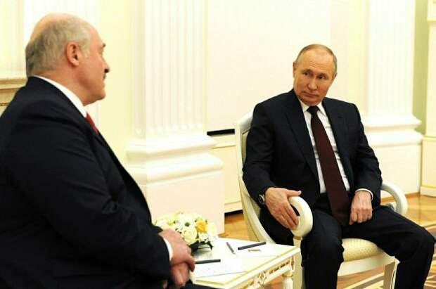 Лукашенко заявил о договоренности с Путиным провести новую встречу летом