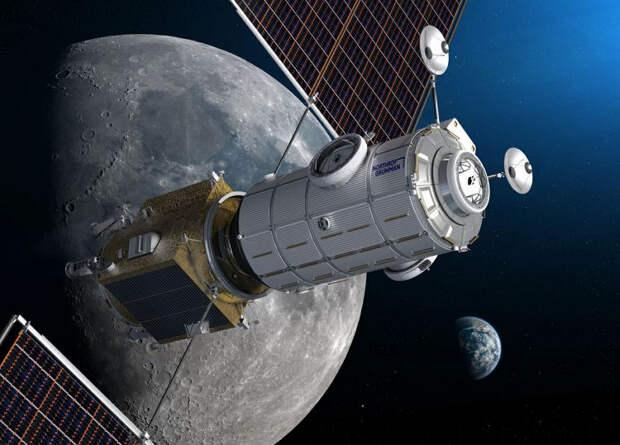 Northrop Grumman построит обитаемый модуль для окололунной станции