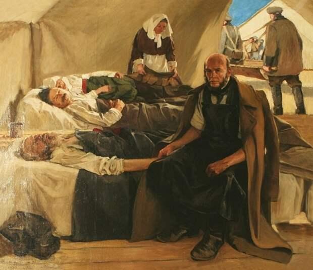 Великий русский хирург Николая Пирогов в осажденном Севастополе