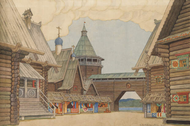 10 театральных художников Серебряного века. Иван Билибин