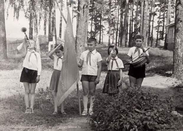 Ностальгия по пионерским лагерям