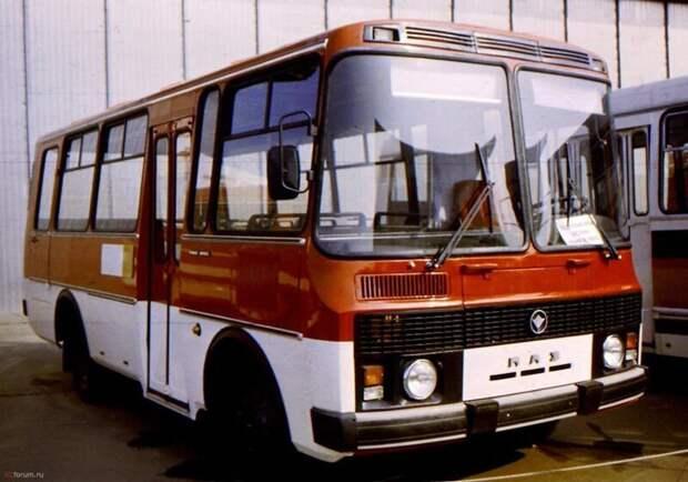 ПАЗ-3205 автобусы, транспорт, это интересно