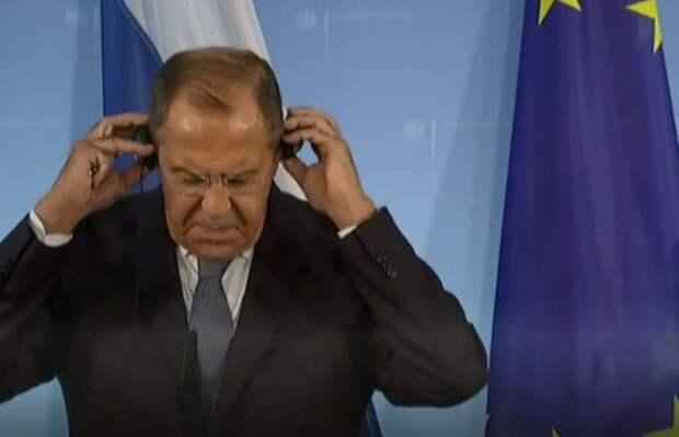 Россия влепила дипломатическую пощечину Европе