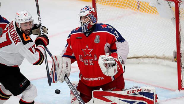 «Авангард» победил ЦСКА впервом матче финала Кубка Гагарина