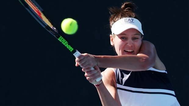 Кудерметова победила Рахимову, став последней четвертьфиналисткой турнира в Санкт-Петербурге