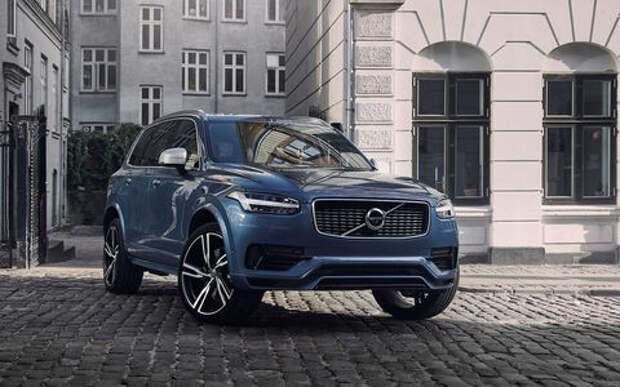 Volvo привезет в Россию гибридный XC90