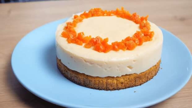 Нежное совершенство для лакомок из моркови и молока