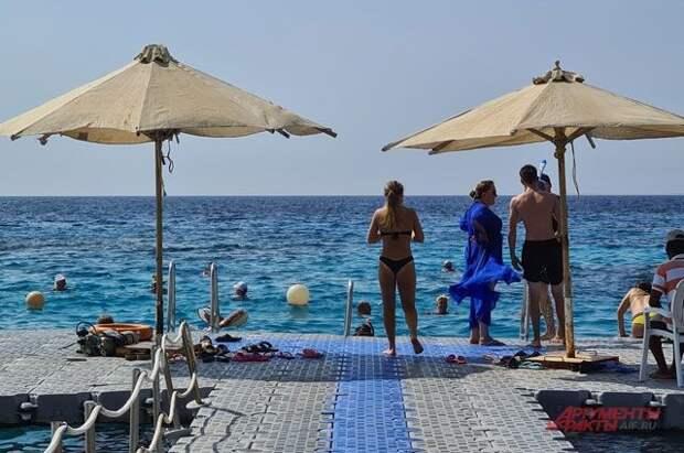 Россия проверила условия для возобновления сообщения с курортами Египта