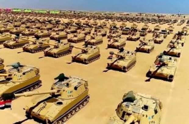 Египет готов к вторжению на запад