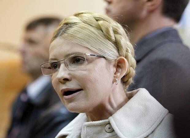 Тимошенко требует объявить войну РФ и ввести военное положение в Донбассе