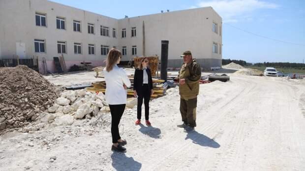 Екатерина Глинкина провела мониторинг объекта Федеральной целевой программы
