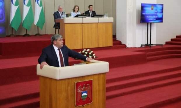 Послание Главы КБР Парламенту Кабардино-Балкарской Республики