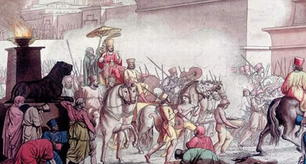 История падения Вавилона