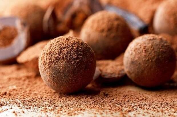 Домашние трюфели в какао