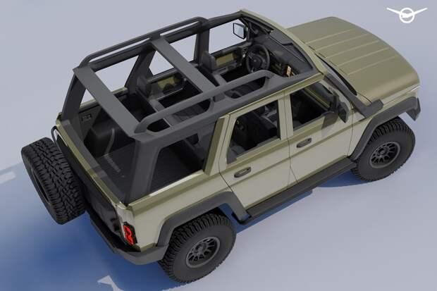УАЗ в мечтах о новом Хантере: салон не хуже чем у Ford Bronco!