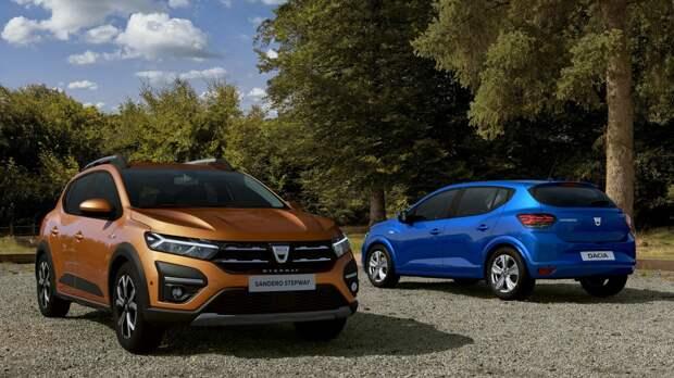 Компания Renault запатентовала дизайн нового Dacia Logan в России