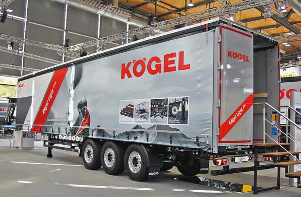 Немецкий полуприцеп Koegel Mega Light Plus: почему он весит меньше, а везёт больше других