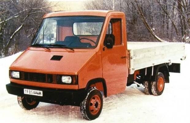 НАМИ-3305 авто, автомир, автомобили, газель, грузовик, советские автомобили, фургон
