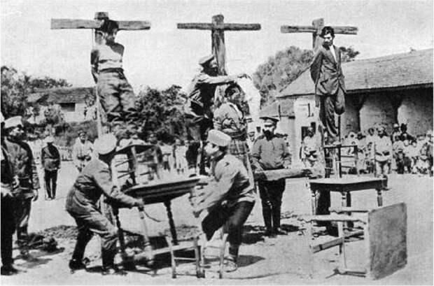 Первые концлагеря для русских как прообраз «фабрик смерти» III Рейха