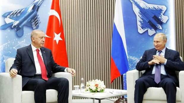 Агрессивный Эрдоган пока что выгоден Путину