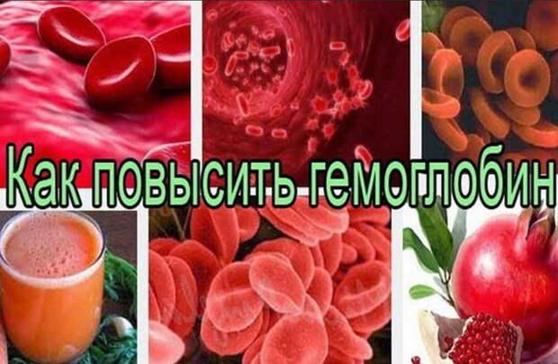 Поднимаем гемоглобин: 8 рецептов из тетрадки старенького врача