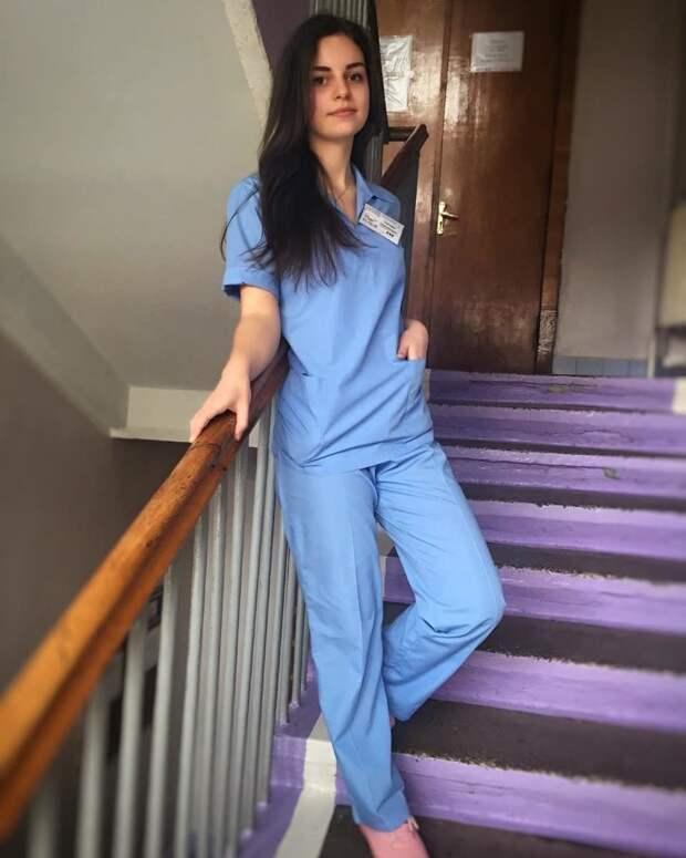 Из Ивано-Франковска в больнице, красавицы, красотки, медицина, медсестра, медсёстры, первая помощь