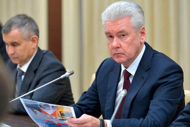 «Начала ухудшаться»: Собянин прокомментировал ситуацию сCOVID-19 вМоскве