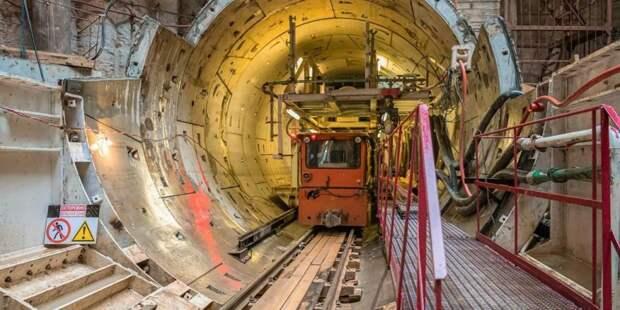 Собянин рассказал о строительстве западного участка БКЛ метро