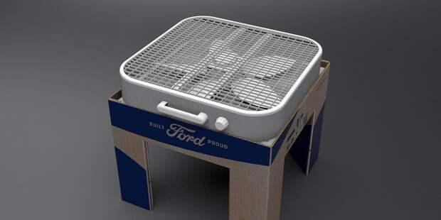 Инженеры Ford придумали картонный очиститель воздуха для борьбы с ковидом