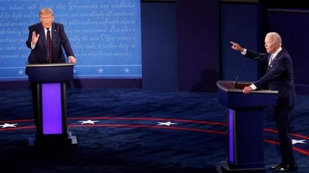 Американцы: Это были ужасные дебаты, нопобедил, кажется, Байден