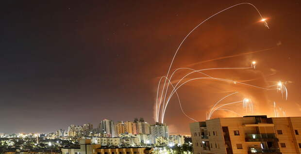 Ракеты ХАМАС истощают израильскую ПВО