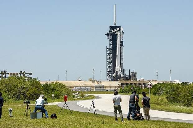 Запуск корабля Crew Dragon-2 к МКС 23 апреля 2021: прямая онлайн-трансляция