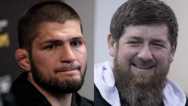 Кадыров предложил Хабибу любой гонорар за бой в «Ахмате»