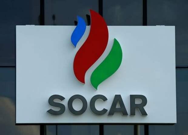 The logo of Azeri state oil company SOCAR is seen near Gori, Georgia, May 3, 2016. REUTERS/David Mdzinarishvili