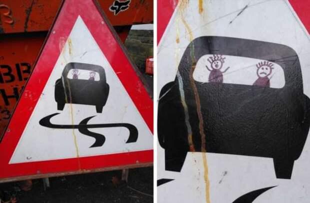20+ примеров народного креатива на грани вандализма и искусства
