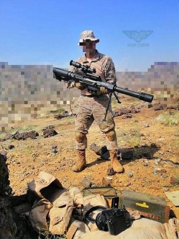 Снайперский ручной гранатомёт Norinco LG5