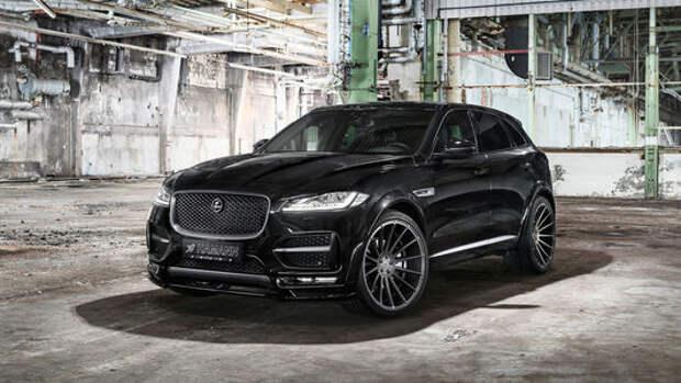 Когти и клыки: кроссовер Jaguar F-Pace с немецким акцентом